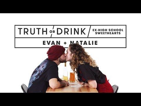 Ex High School Sweethearts (Evan & Natalie)   Truth or Drink   Cut