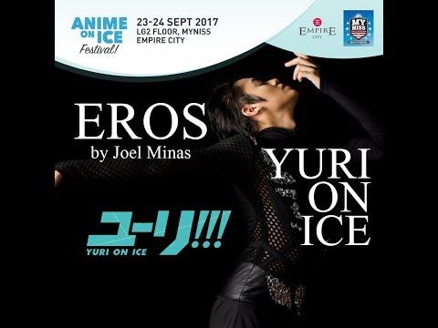 [Yuri!!! On Ice] EROS - Ice Skating performance by Joel Minas [HD]
