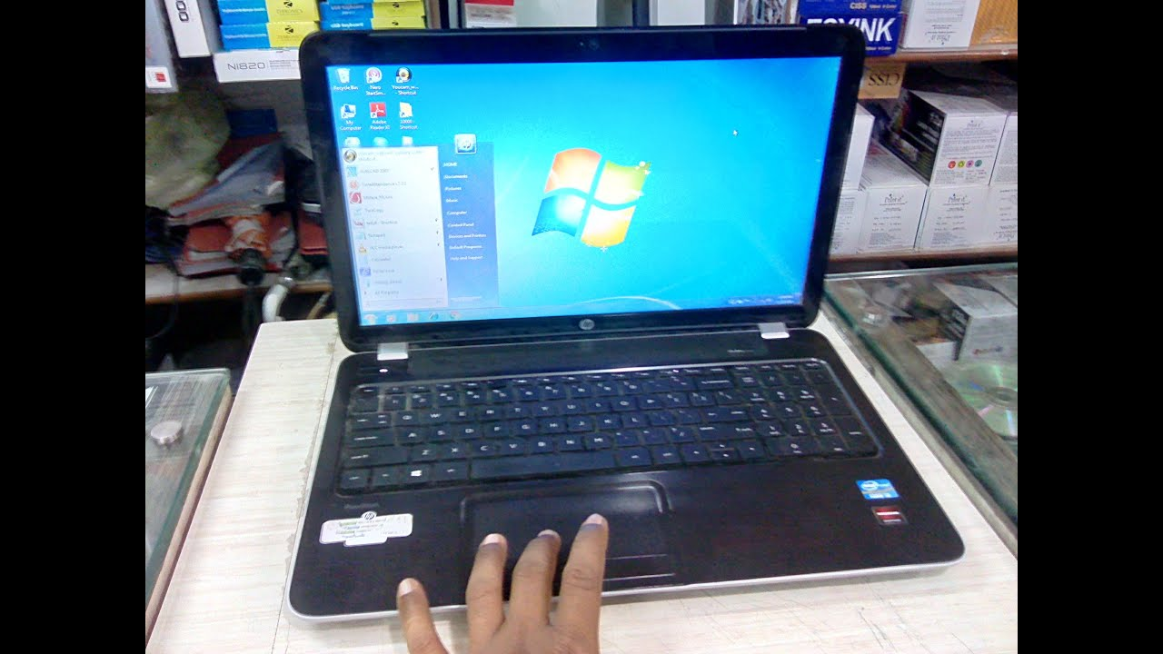 Unboxing HP Pavilion 15 Laptop (i3/4GB/500GB/2GB) Review & Hands On