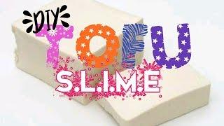 DIY Tofu Slime 🍥| Yoits. Mega | Bahasa