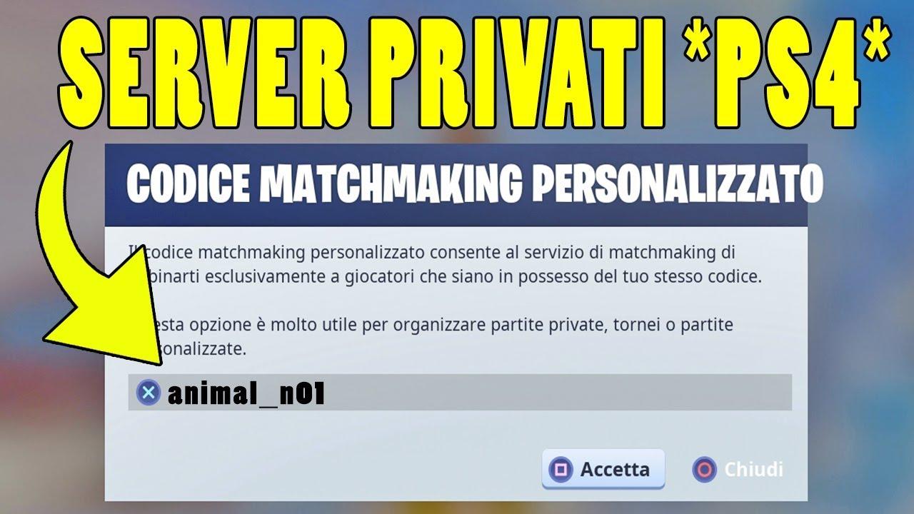 matchmaking rango privato 3