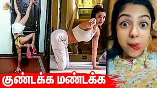 நடிகைகளின் குண்டக்க மண்டக்க Challenge | Tamil Actress, Tamil Cinema News