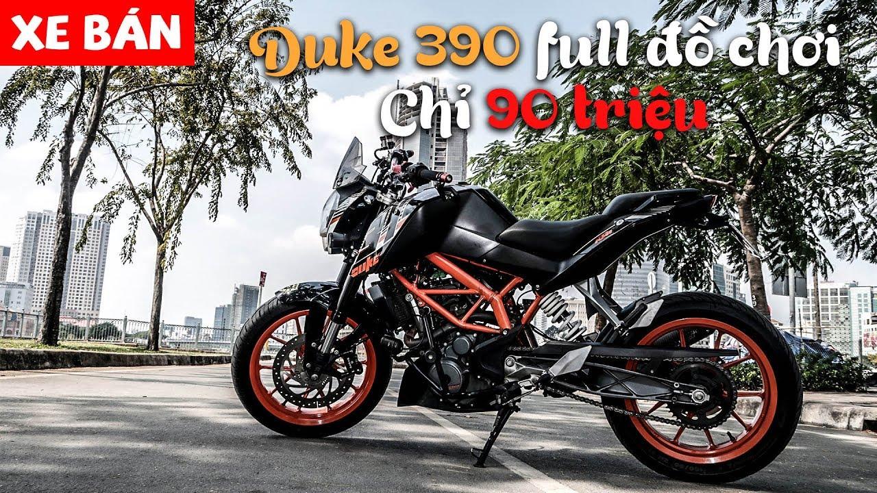 KTM Duke 390 độ đồ chơi gần 30 triệu – Chỉ 90 củ để rước em PKL này | MinC Motovlog