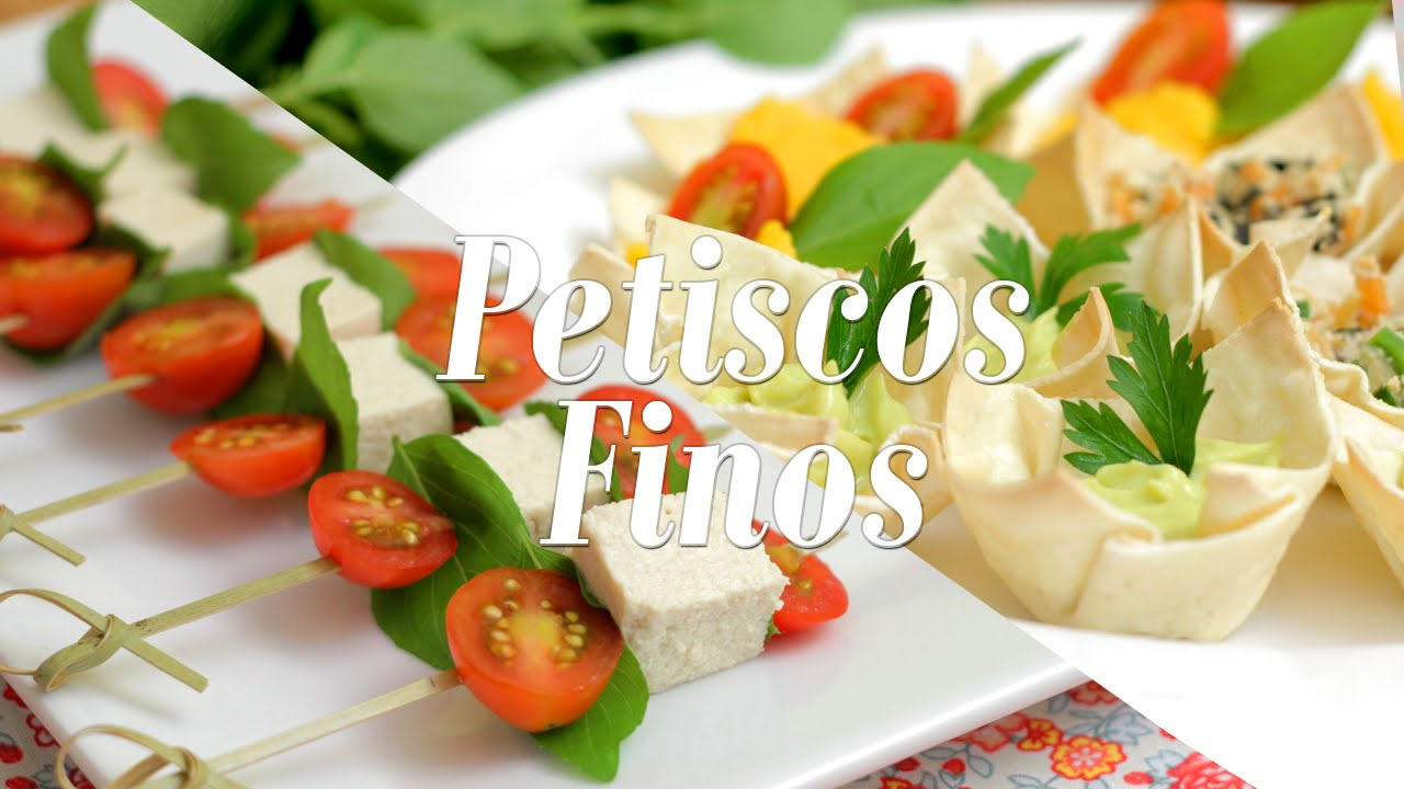 Petiscos finos maionese de batata e cenoura especial de for Canapes simples e barato