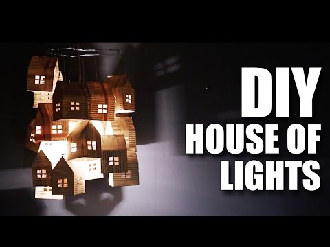 Mad Stuff With Rob - DIY House of Lights | Diwali Special | Room Decor Ideas