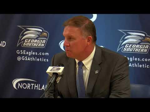 Georgia Southern introduces new interim head football coach