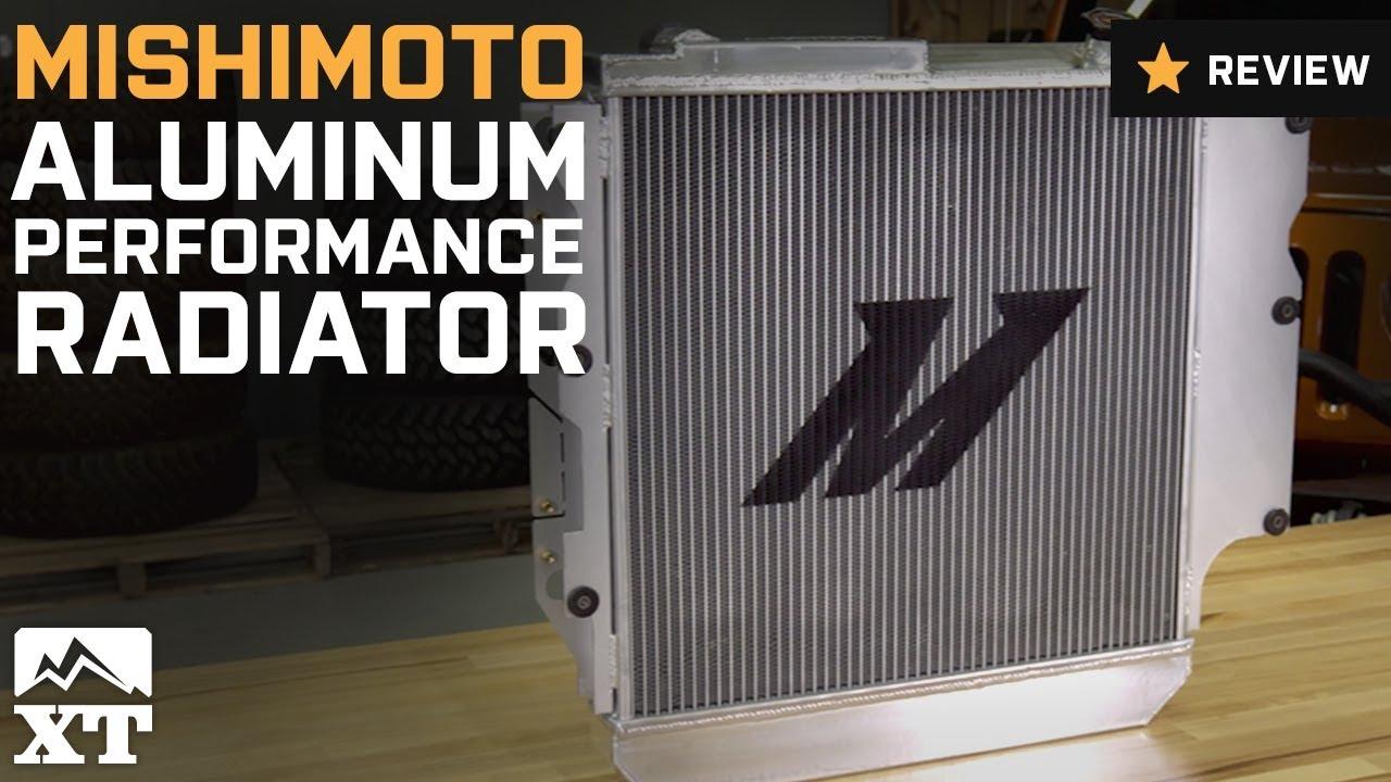 Mishimoto Aluminum Performance Radiator (87-06 Jeep Wrangler YJ & TJ)