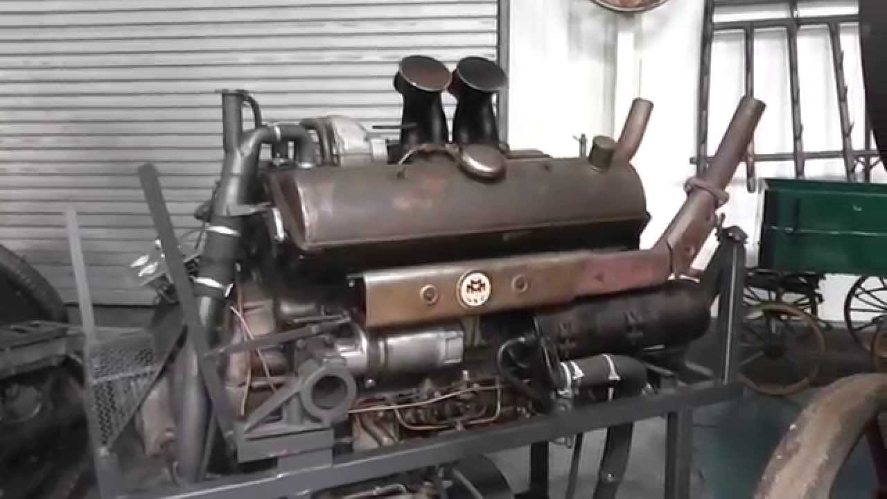 maybach panzermotor hl 120 - tank engine - youtube