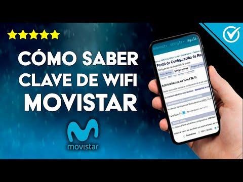 Cómo ver o Saber la Clave de WiFi Movistar paso a paso