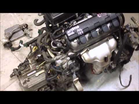 JDM Honda Civic D17A2 VTEC 1.7 engine, AT Transmission, ecu, acura EL swap, d17a