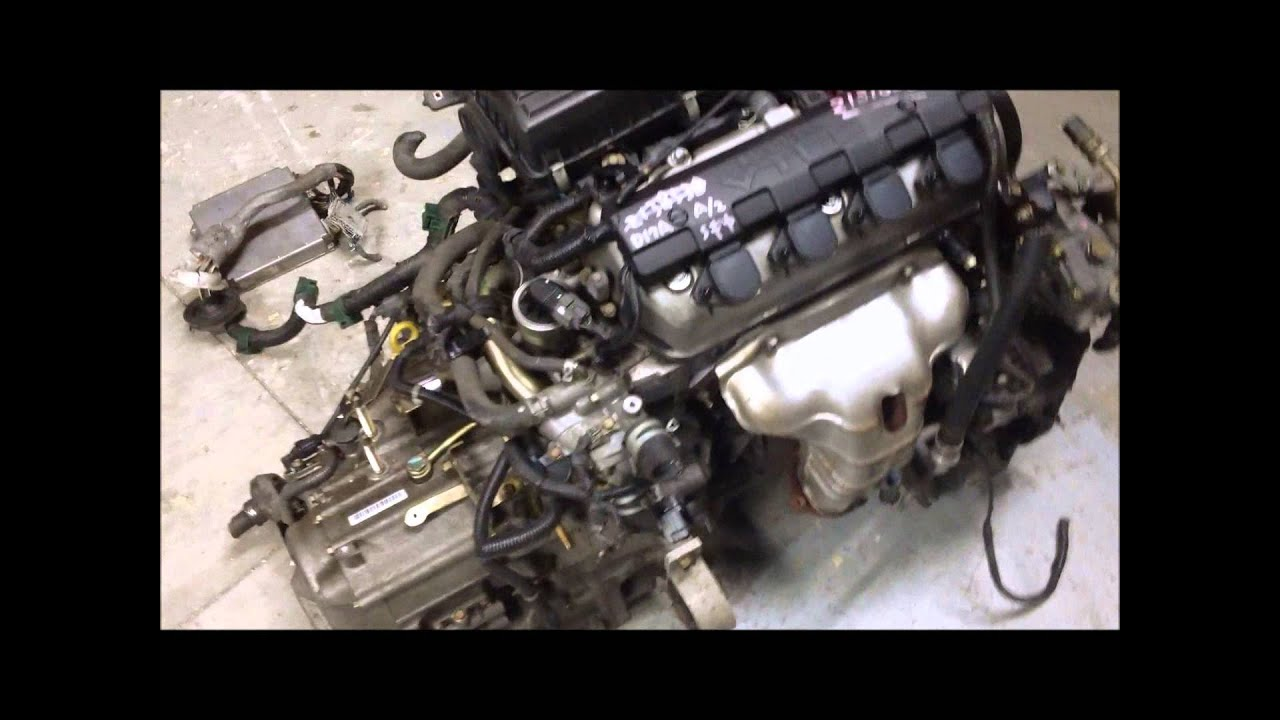 JDM Honda Civic D17A2 VTEC 1.7 engine, AT Transmission ...