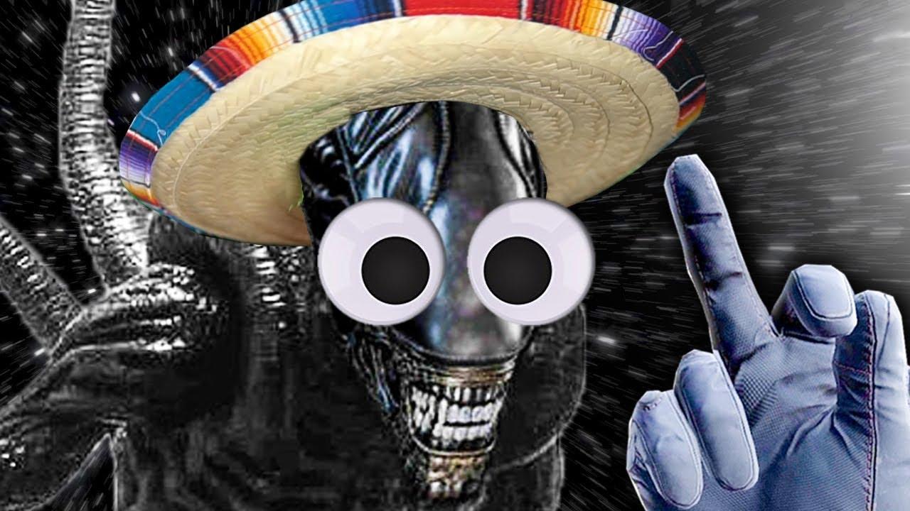 El Mexican Alien Isolation VR.