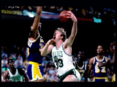 Larry Bird - Highlights vs Lakers 1984 Finals, Game 7