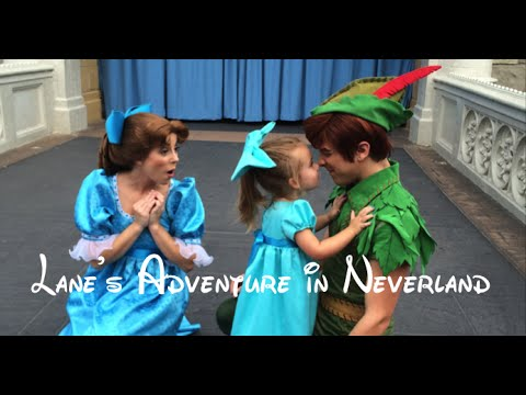 Peter Pan and Wendy  Darling Castle Show Meet and Greet (Walt DIsney World)