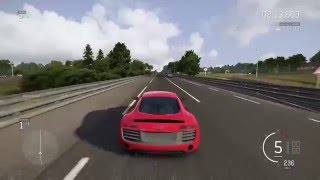 Forza Motorsport 6 Drag Races #02 - 2013 Audi R8 V10+ vs. 2016 Audi R8 V10+