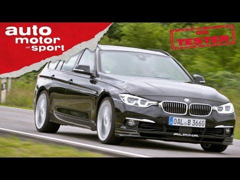 Alpina B3S Touring: Hochdosiertes Aufputschmittel Für Den 3er BMW Test/Review | Auto Motor & Sport