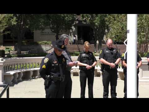 Yolo County Fallen Peace Officer Tribute Ceremony