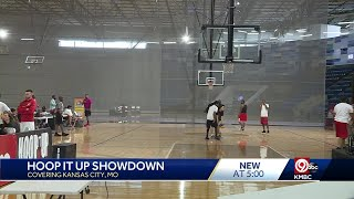 Hoop It Up 3X3 Basketball Tournament takes place at Hy-Vee Arena