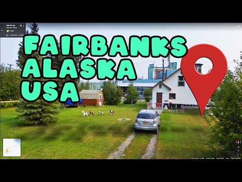 Let's Take A Virtual Tour Of Fairbanks Alaska!