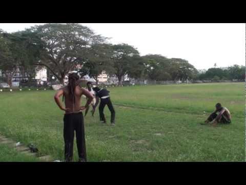 12 16 2012 Abibifahodie Capoeira Ghana End of Class Roda with Wanlov the Kubolor