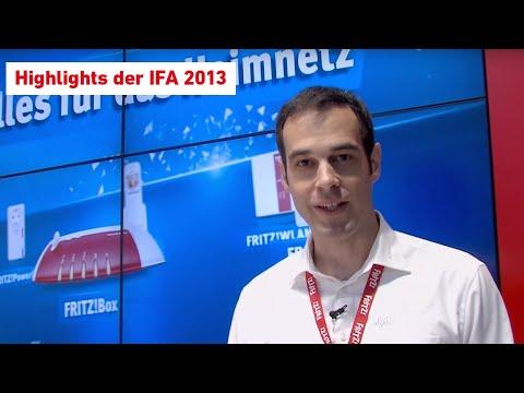 AVM-Premieren der IFA 2013