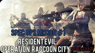 Resident Evil Operation Raccoon City Walkthrough Español Spec Ops Misión 1 (Ojo de la Tormenta)