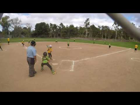 SMGS WInter Ball 10U Green Machine vs Vista Bolts Game 2