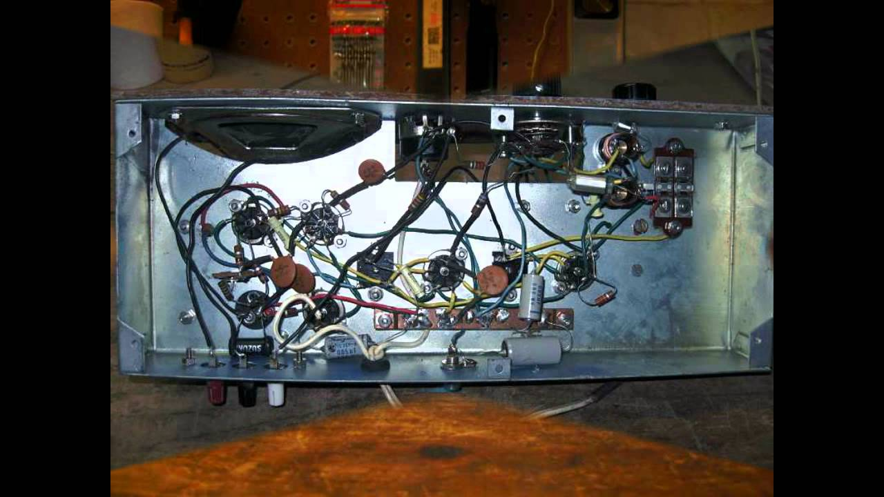 Graymark 506 1970 U0026 39 S 5 Tube Radio Kit Still Working  Slide