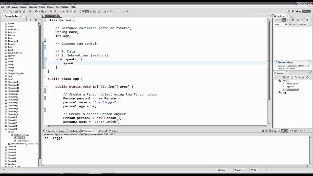Learn Java Tutorial for Beginners, Part 14: Methods - YouTube