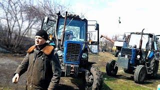 МТЗ-82 , ЮМЗ-6 - подготовка к выезду в поле СельхозТехника ТВ