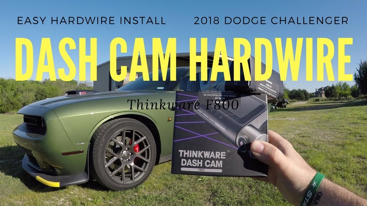 2018 challenger hardwire dash cam rear fuse box install [ 1280 x 720 Pixel ]