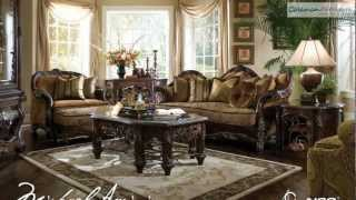 Essex Manor Living Room Collection From Aico Furniture