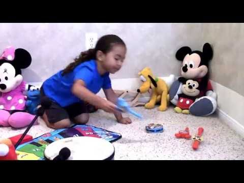 Mickey Mouse Clubhouse Piano MEESKA MOOSKA Mickey Music Video + Elmo & Cookie Monster