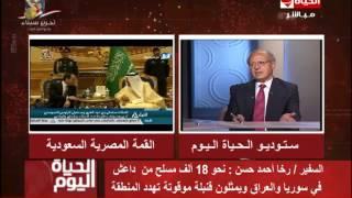 فيديو.. رخا أحمد حسن: بشار الأسد لا يريد تحويل سوريا لعراق جديدة
