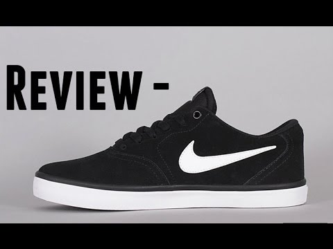 4f3db5e9337a Nike SB Check Solarsoft Canvas Shoe  Review  - YouTube