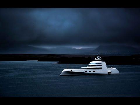 Motoryacht A in Reykjavik, Iceland