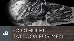 70 Cthulhu Tattoos For Men