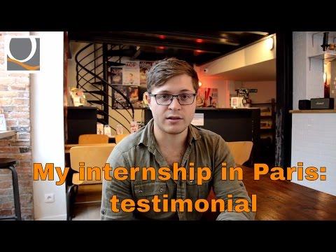 Internship in France: testimonial
