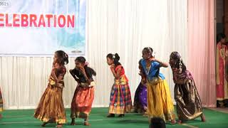 BEST MATRICULATION SCHOOL 2018-19 Annual Day 4th Girls Dance Performance 1