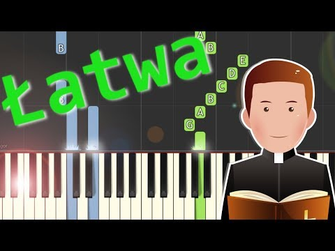 🎹 Abba Ojcze - Piano Tutorial (łatwa wersja) 🎹