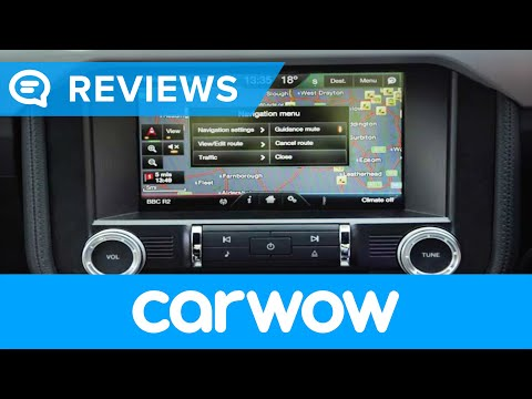 Ford Mustang V8 Sports Car 2018 infotainment and interior review | Mat Watson Reviews