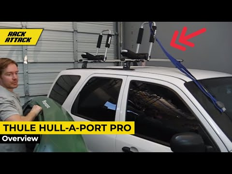 Thule Hull A Port Pro Demonstrated By Rack Outfitters