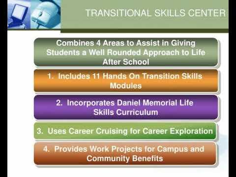 transitional skills center