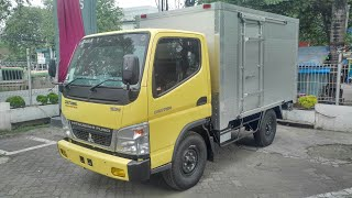 In Depth Tour Mitsubishi Colt Diesel Canter FE71 110PS - Indonesia