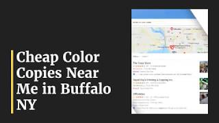 Creative ways to find Cheap Color Copies Buffalo NY