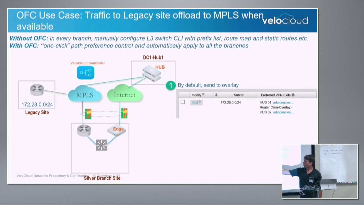 VeloCloud Large Enterprise Deployment with Parag Thakore