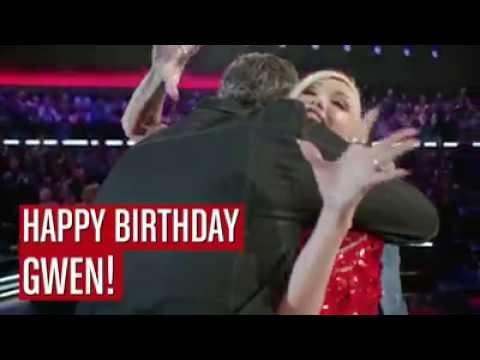 Gwen Stefani's Fellow ''The Voice'' Coaches Wish Her Happy Birthday