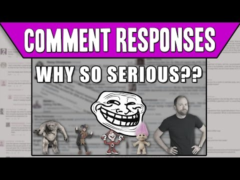 Comment Responses: When Is A Troll No Longer A Troll?