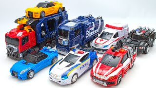 Hello Carbot Pentastorm X GiantLoader Truck Car Vehicle Combine Robot Toys