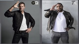 Better GQ Model: Tom Brady or Maurice Jones-Drew? | NFL Total Access
